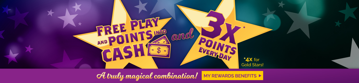 Lucky Star Rewards - Learn more about rewards you can't find anywhere else