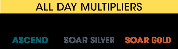 10x Ascend, 10x Soar Silver, 12x Soar Gold