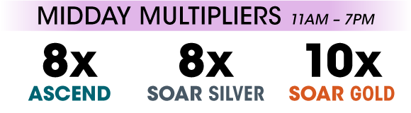 8x Ascend, 8x Soar Silver, 10x Soar Gold